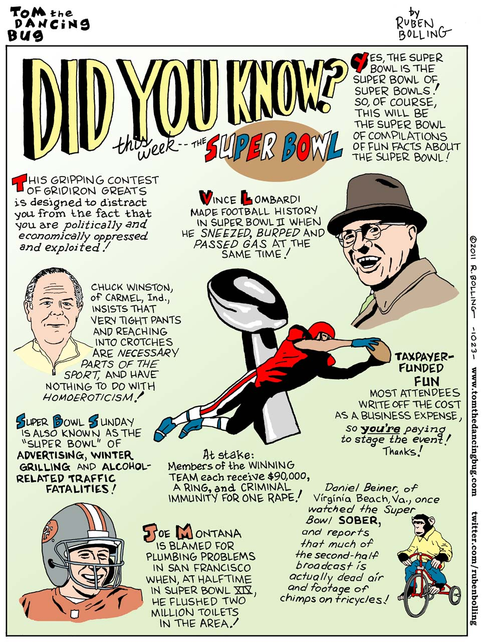 Fun Facts About the Super Bowl! / Boing Boing