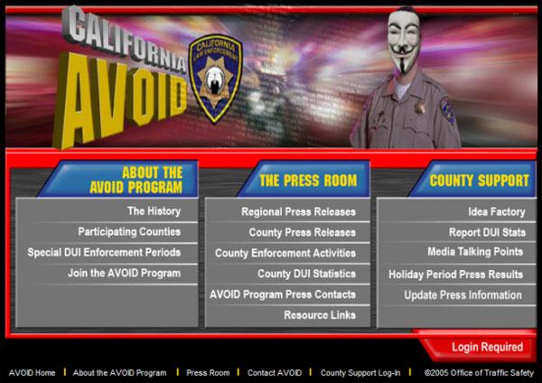 Анонимус взломал сайт BART