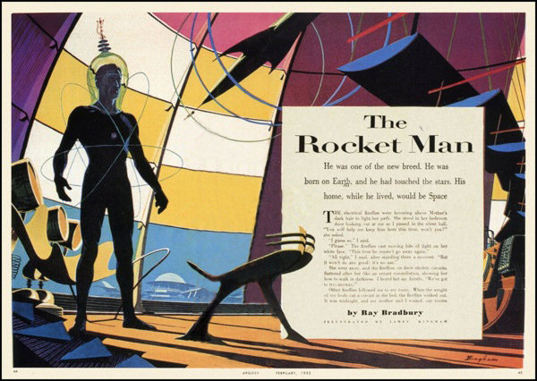 The Illustrated Man - The Rocket Man Summary & Analysis