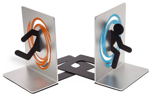 Portal bookends boing boing - Portal book ends ...