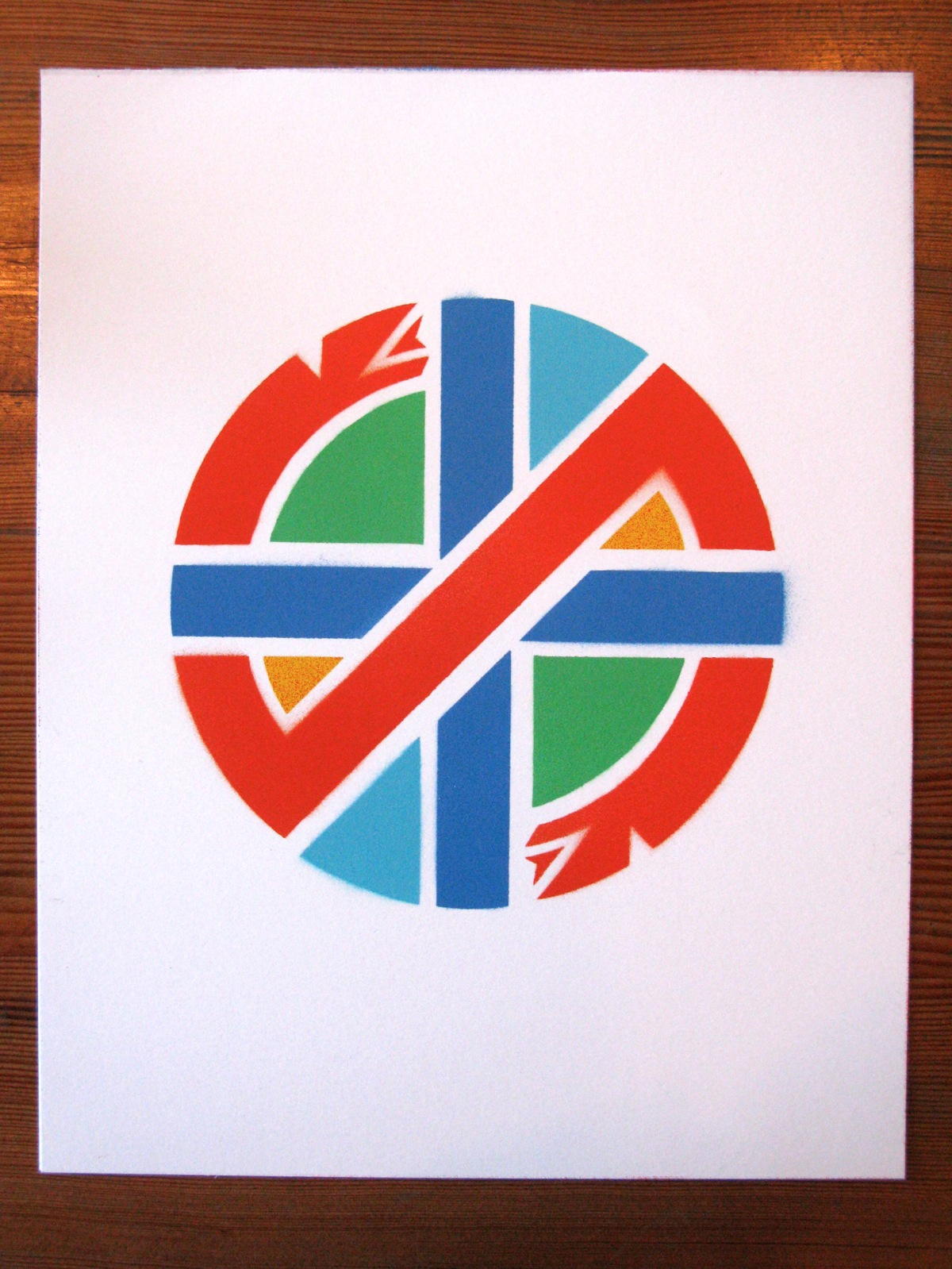 free the crass symbol    by the designer of the crass symbol  dave king