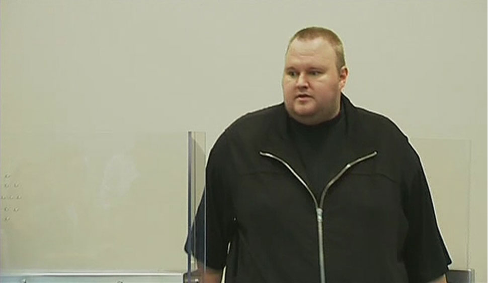 Megaupload founder Kim Dotcom appears in New Zealand court
