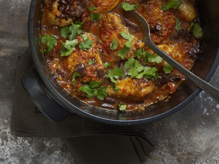 Venezuelan choc chilli chicken