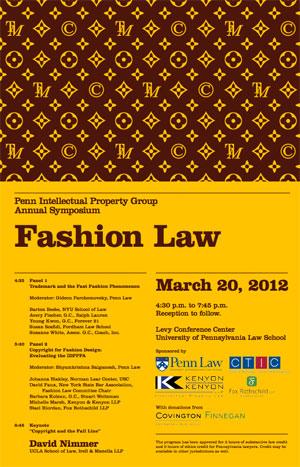Fashion Law Seminar