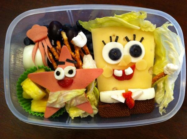 bekal makanan sponge bobs