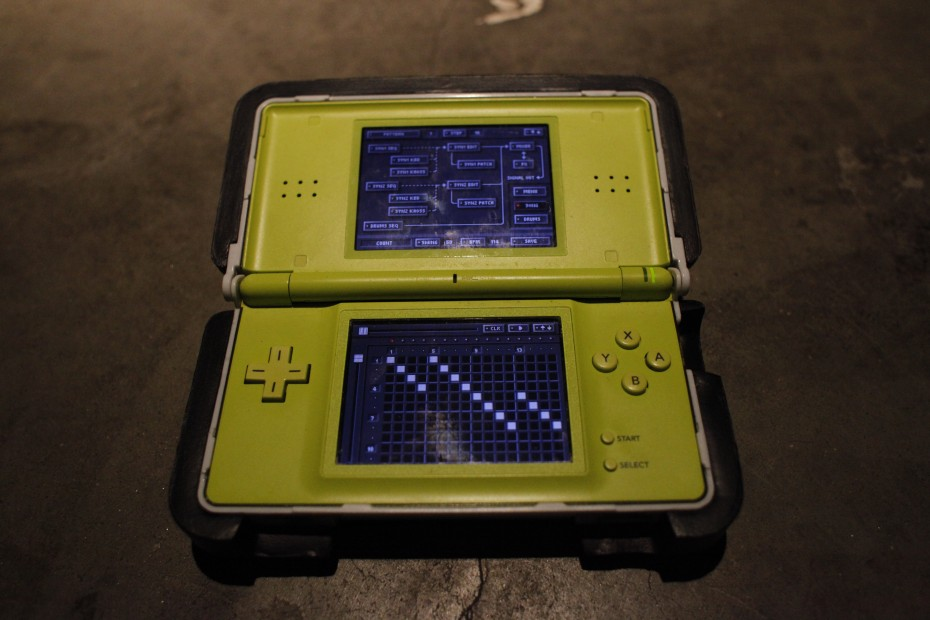 Sean Monistat AKA Let's Disinfect - Nintendo DS Lite running Korg DS 10 software.