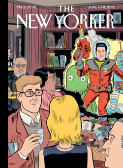 The New Yorker Magazine Covers 2012