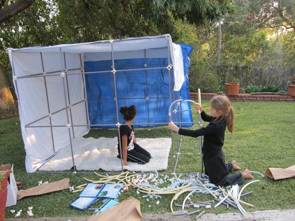 Fort Magic, a fun backyard building kit for kids - Boing Boing