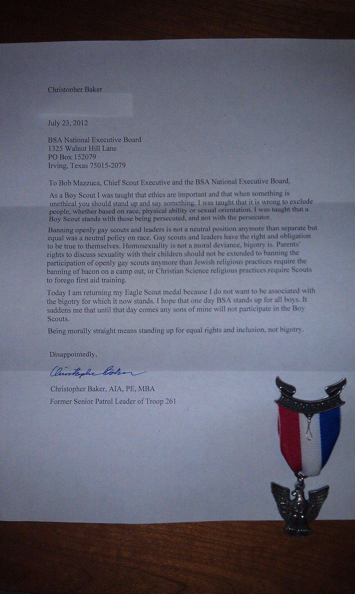 Eagle scout essay