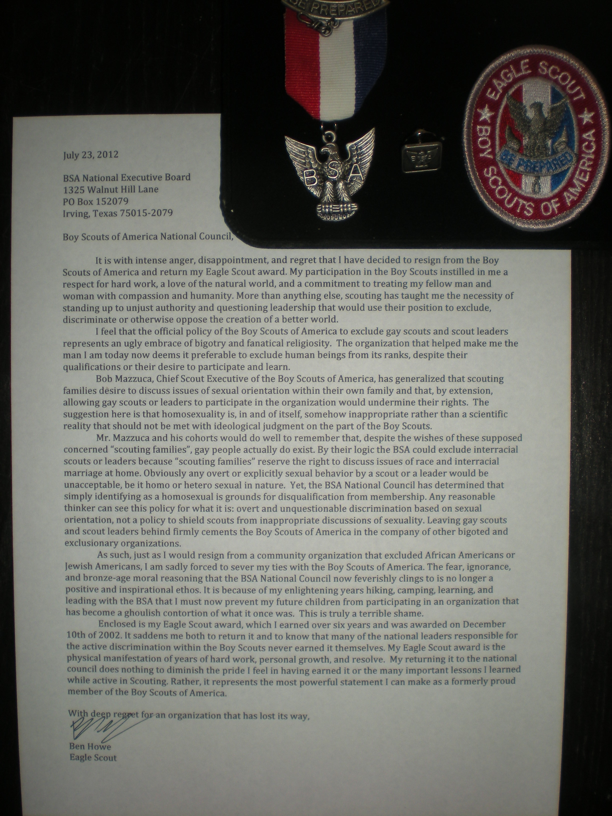 Eagle Scout Essay Examples