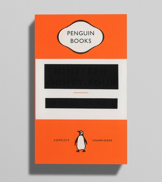 Penguin Book Cover Design : Cover for new edition of orwell s is brilliant