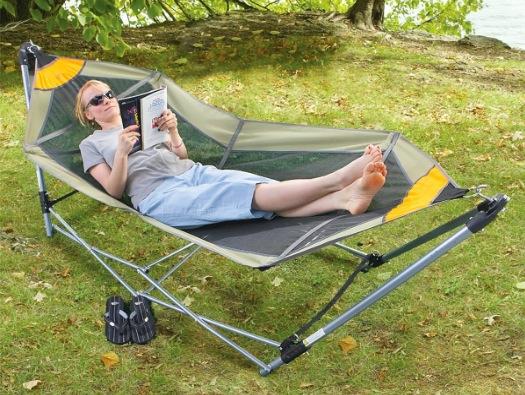Gear Guide Portable Folding Hammock Boing Boing