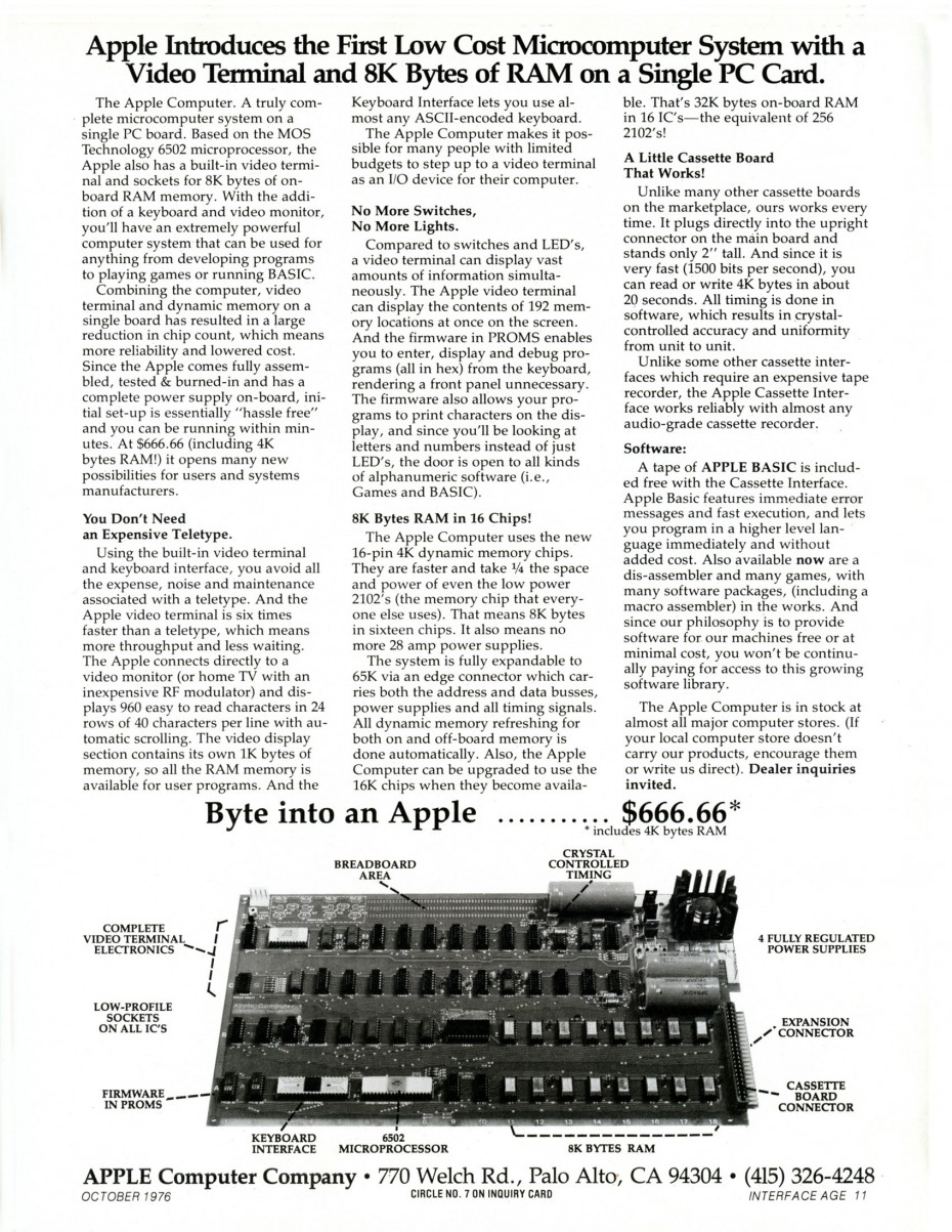 Apple_1_Advertisement_Oct_1976