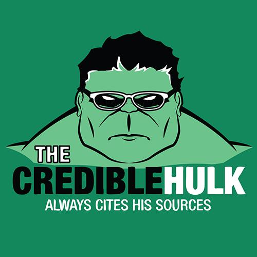 Credible Hulk Tee Boing Boing