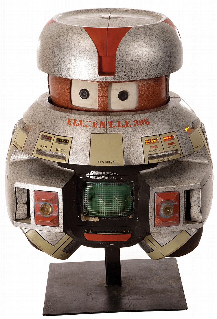 auction  v i n cent robot prop from 1979 u0026 39 s black hole