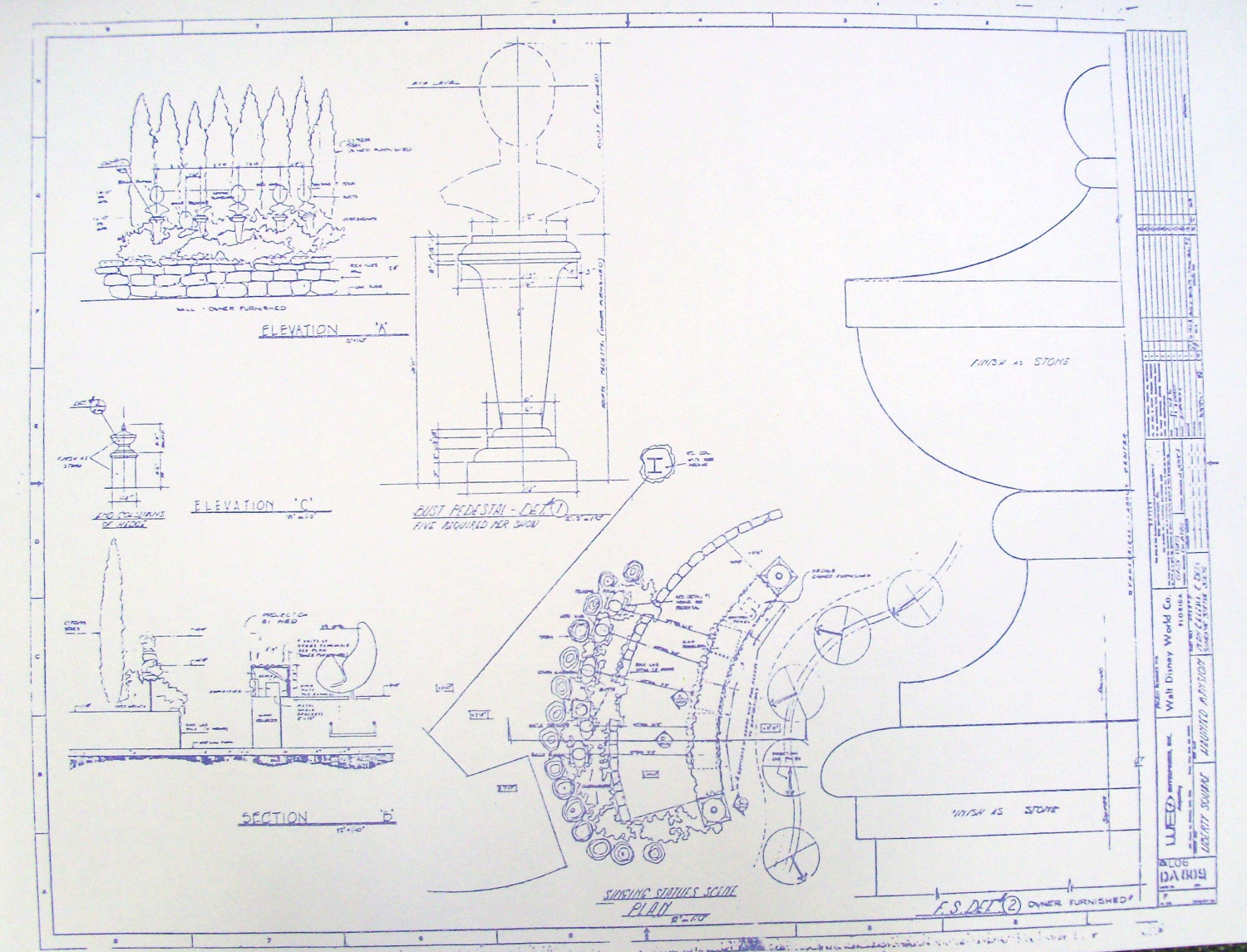 Haunted mansion blueprints for sale boing boing for Haunted mansion blueprints