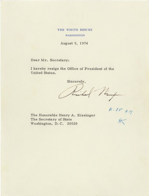 Letter Of Resignation Federal Government