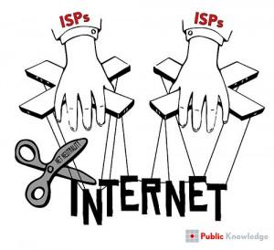 Se i fornitori di connessione vincolo la battaglia contro la neutralità della rete, succederà che controlleranno Internet?