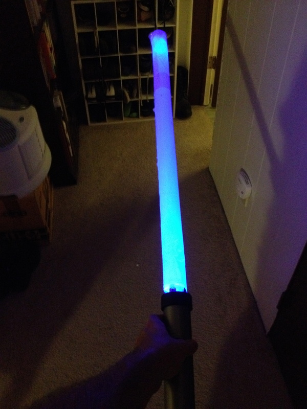 Quick Kid S Science Project Lightsaber Prop Boing Boing