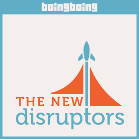 The New Disruptors logo