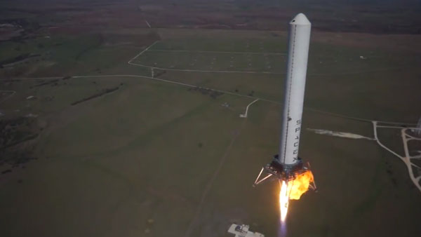 Rocket launch filmed by drone - Boing Boing