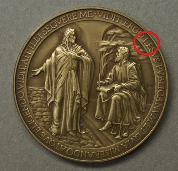 V2pope commemorative coin11
