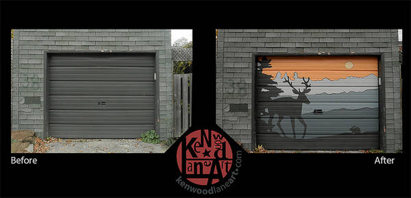 Toronto Neighbours Turn Their Laneway Into A Garage Door
