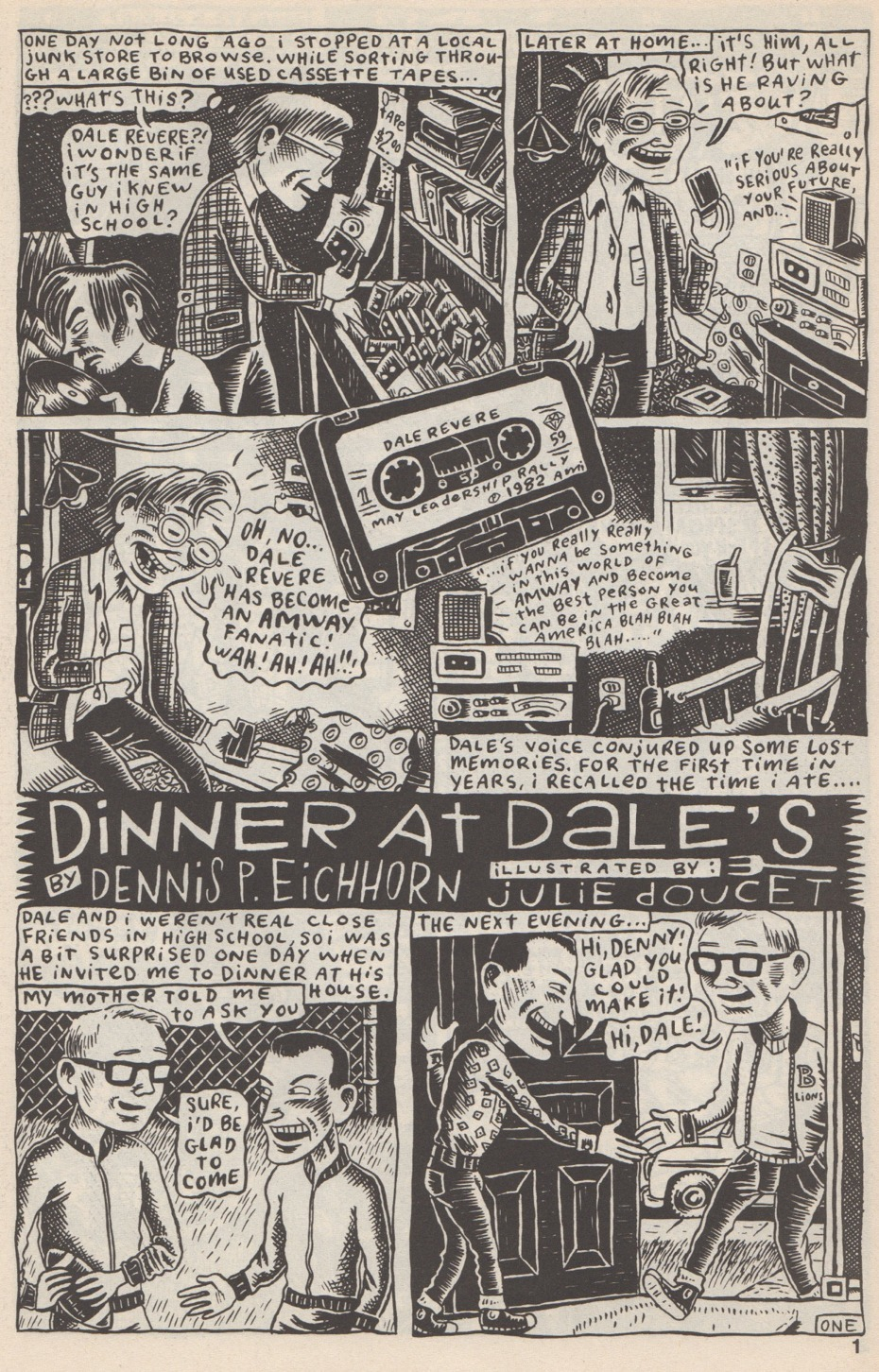"Real Stuff: ""Dinner at Dale's"" - Boing Boing"