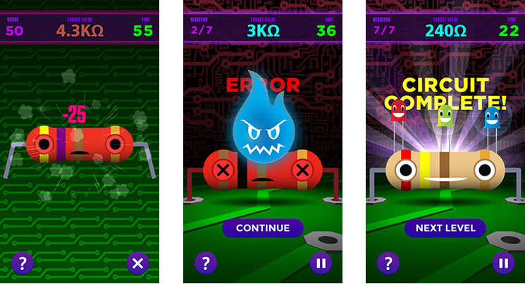 An App To Teach Kids Resistor Color Code Values Boing Boing