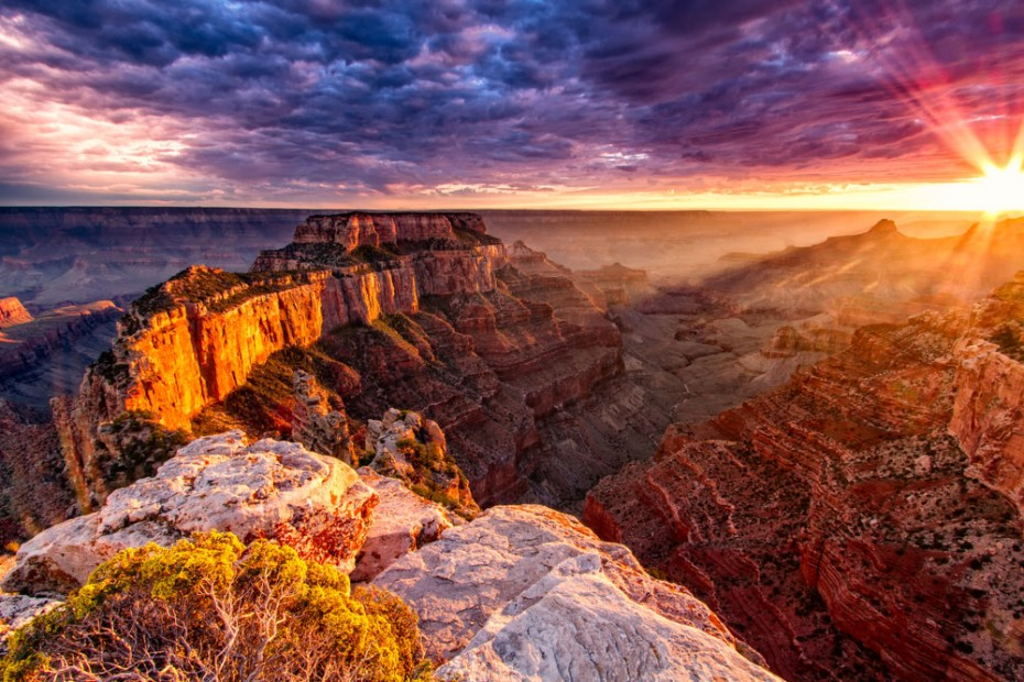 """North Rim Grand Canyon Cape Royal,"" for Shutterstock by Erik Harrison."