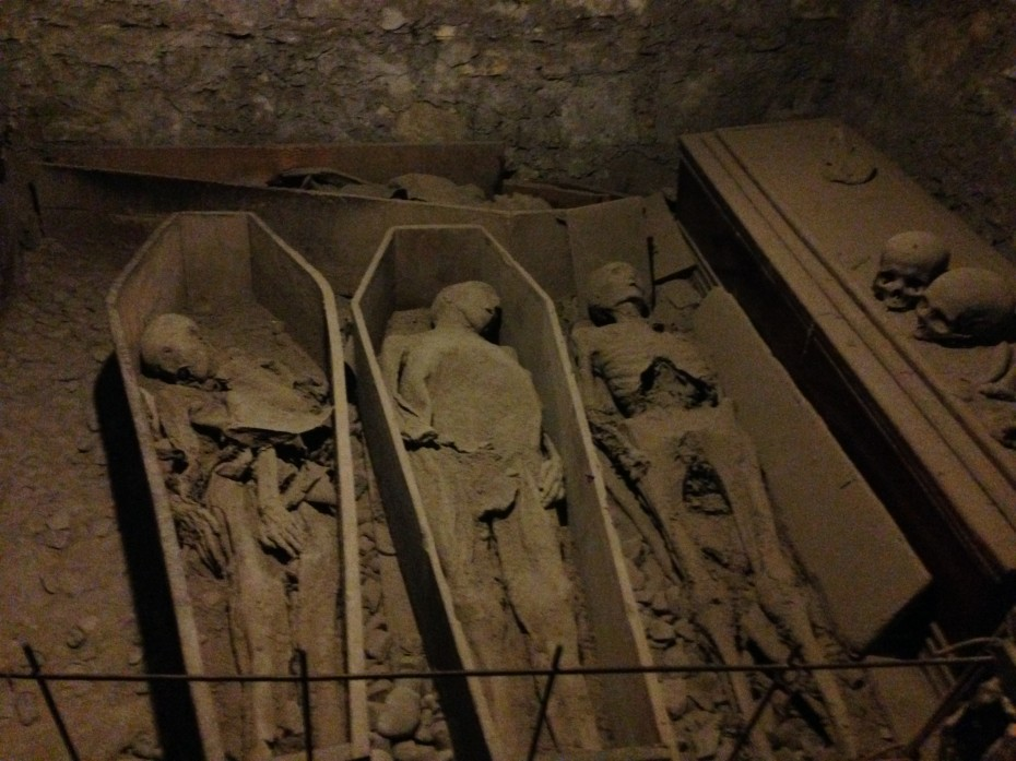 Crypt under St. Michan's Church, Dublin