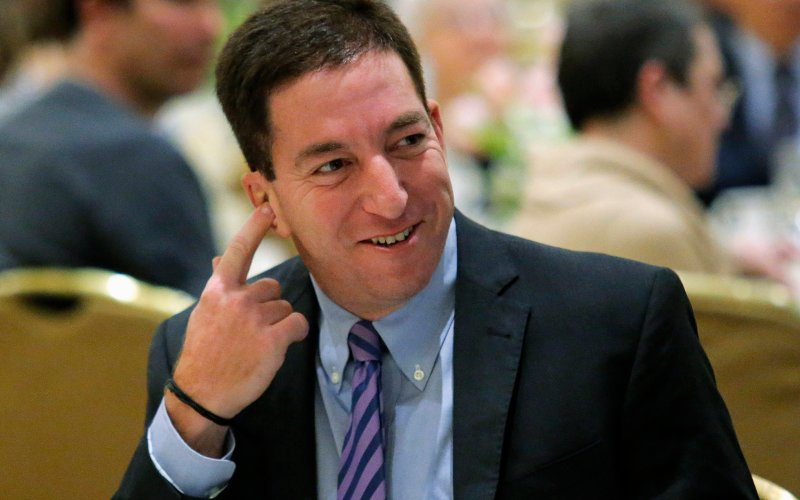 Glenn Greenwald. [Reuters]