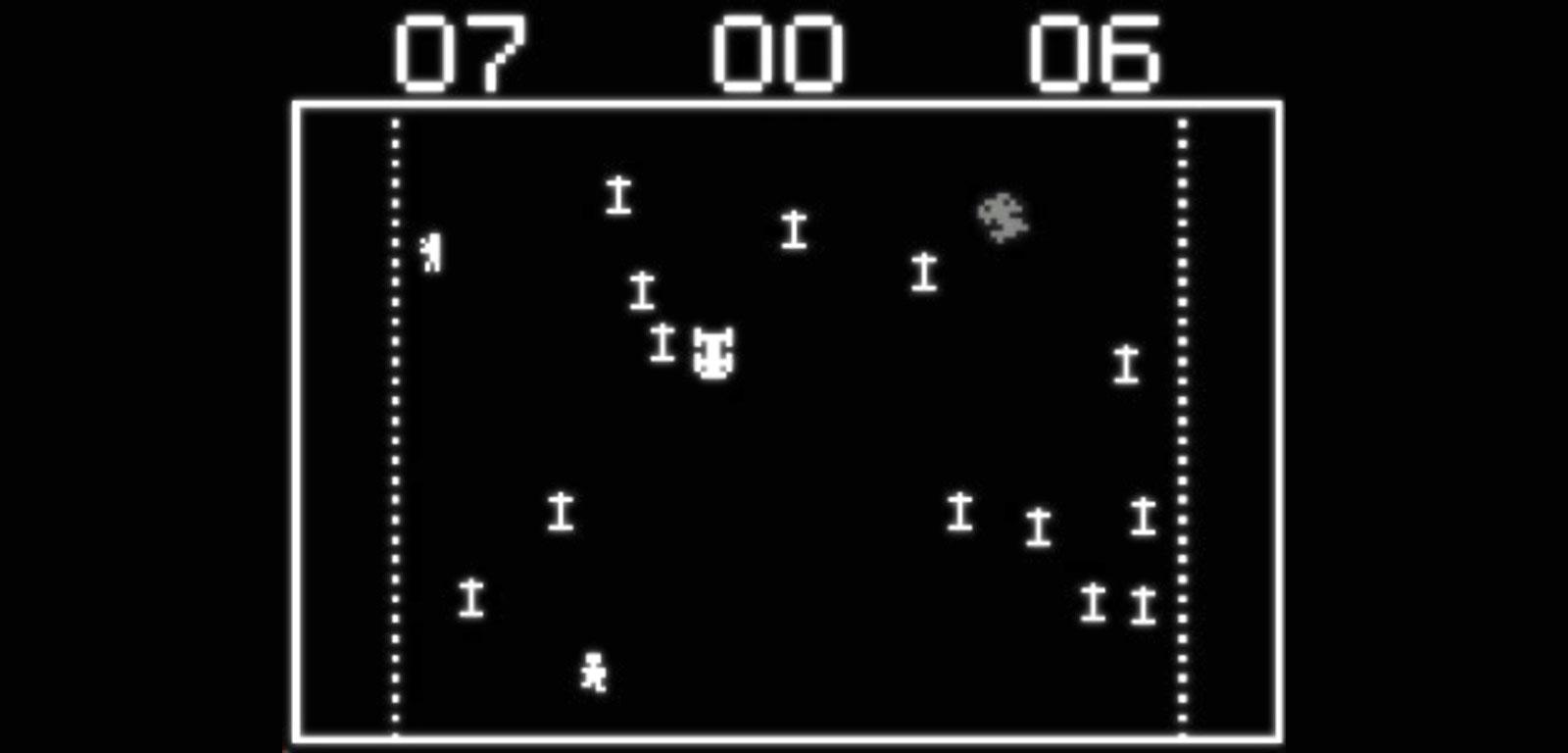 Resultado de imagem para death race game atari