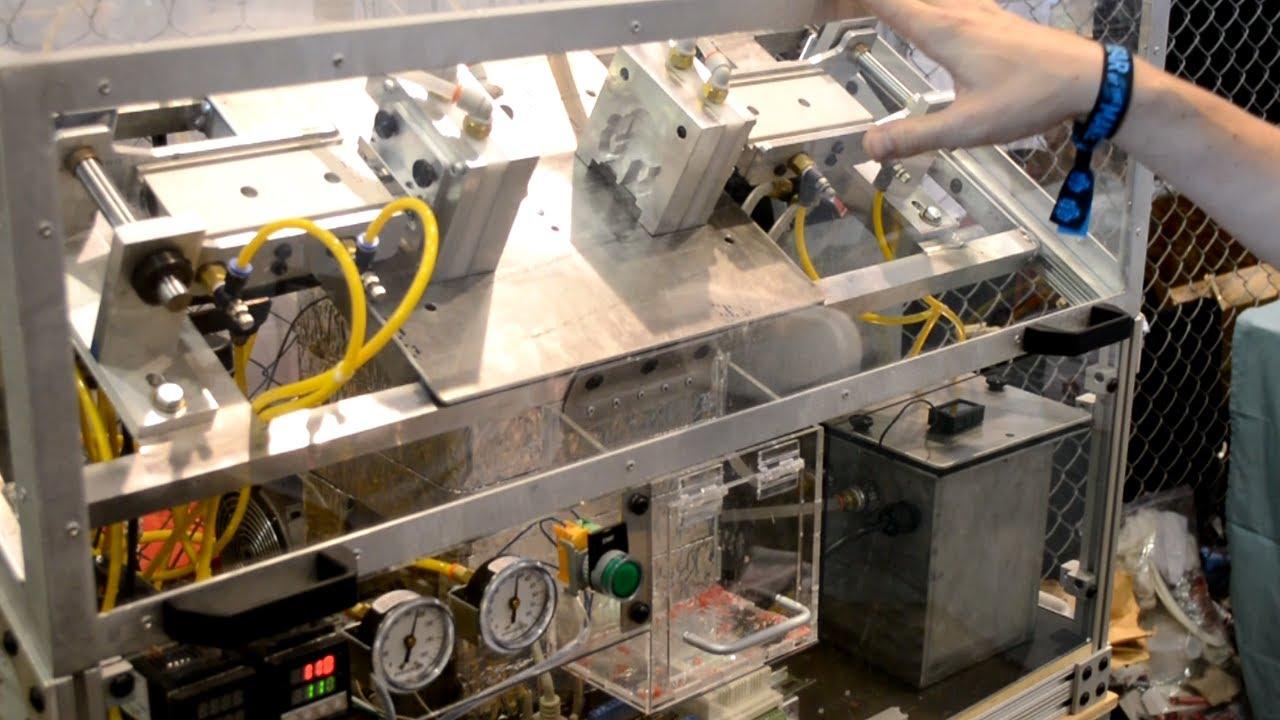 Scratch Built Mold A Rama Machine Boing Boing