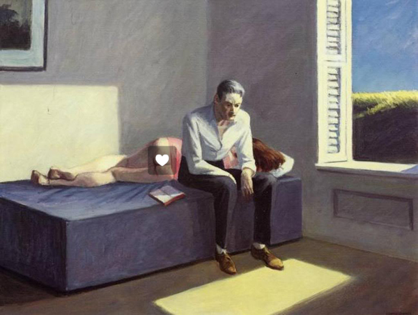 Hopper, Excursion into Philosophy 1959