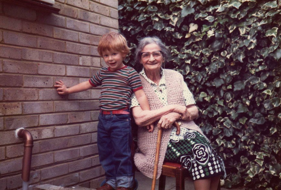 Rob and his grandmother