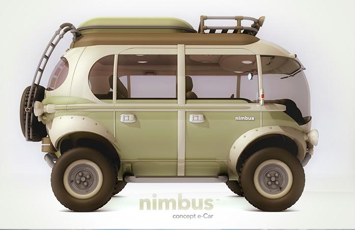 nimbus concept hybrid looks like a vw microbus boing boing. Black Bedroom Furniture Sets. Home Design Ideas