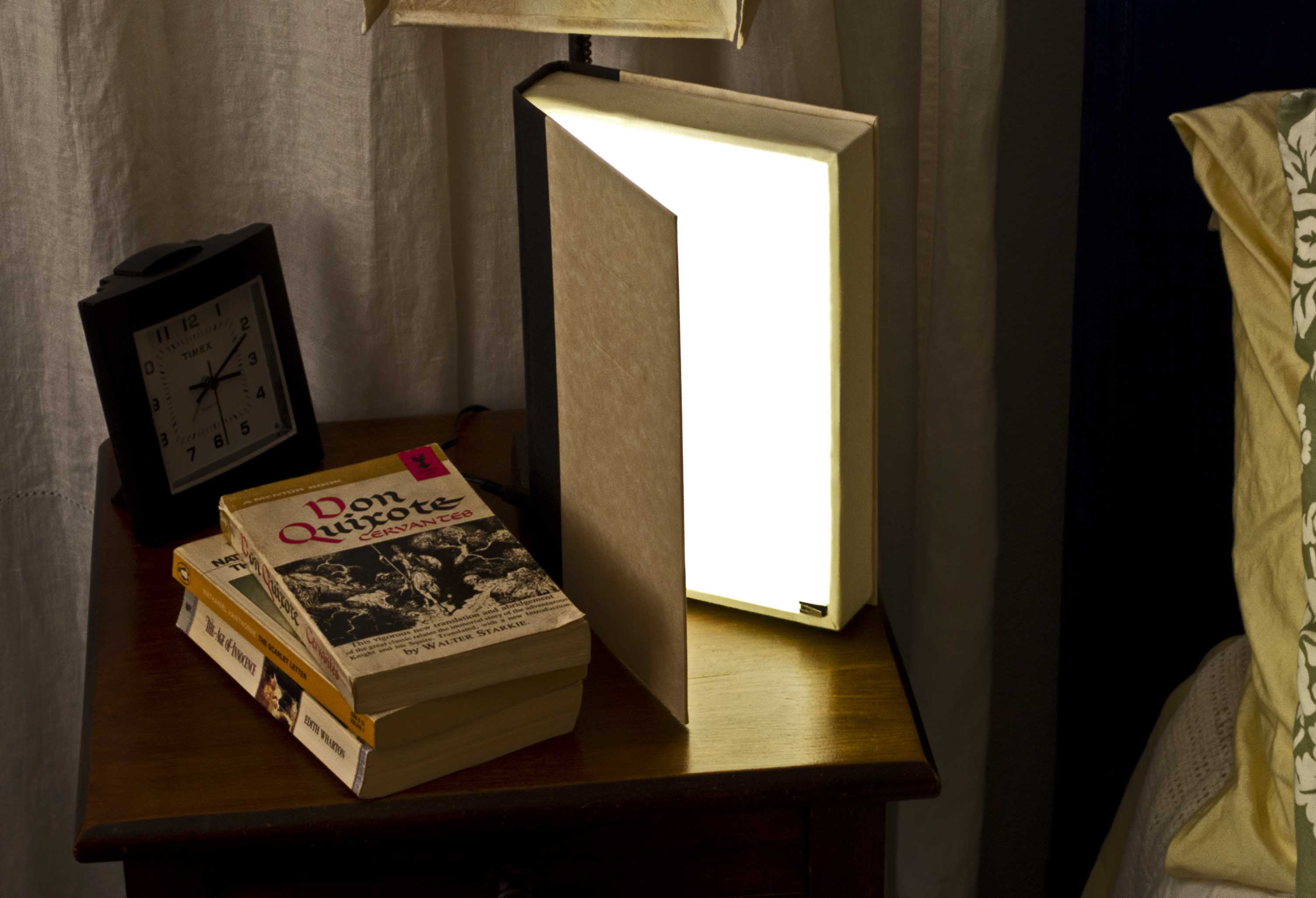 Diy Hardcover Book : Make your own hardback reading light boing