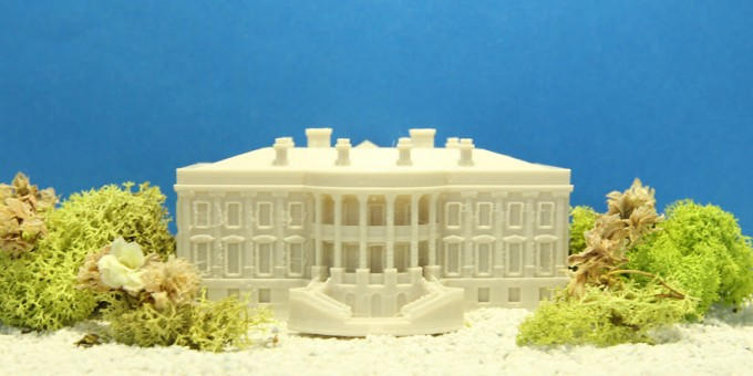 house maker faire this 3d printed model of the white house was
