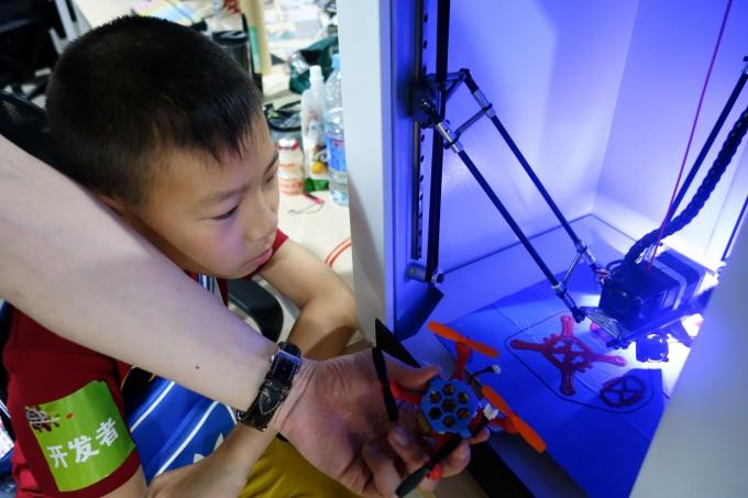3D printing miniature drones