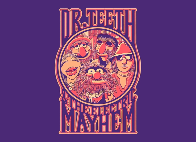 Electric Mayhem shirt