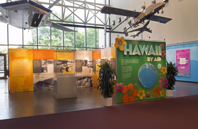 "The exhibition, ""Hawaii by Air,"" will open at the National Air and Space Museum in Washington, D.C. July 25 and will be on view for one year."