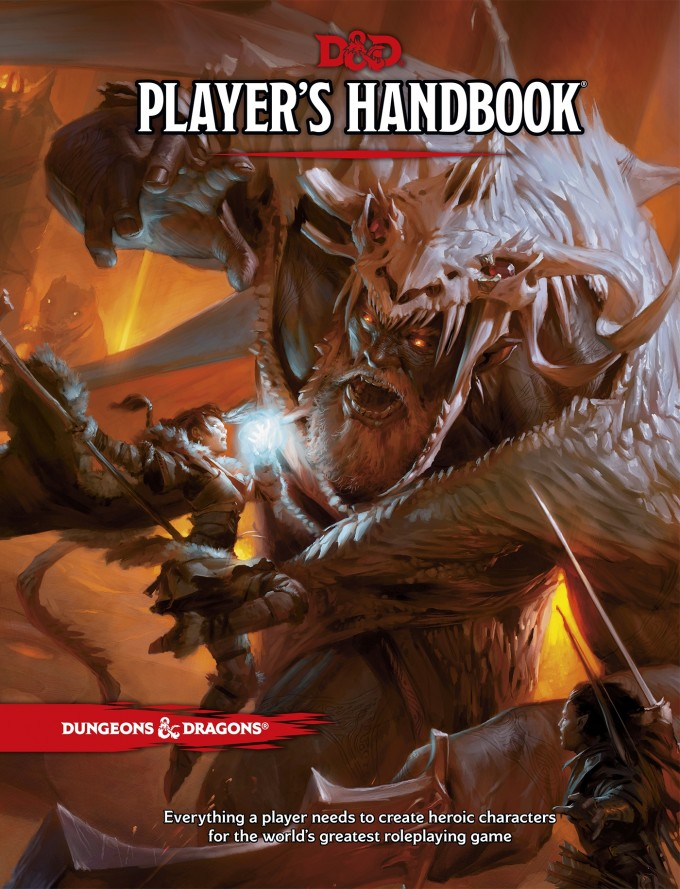 Players Handbook - Cover Art