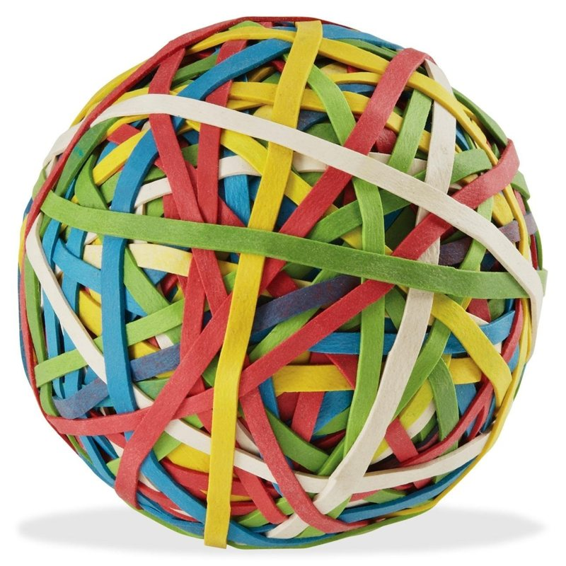Rubber band ball / Boing Boing