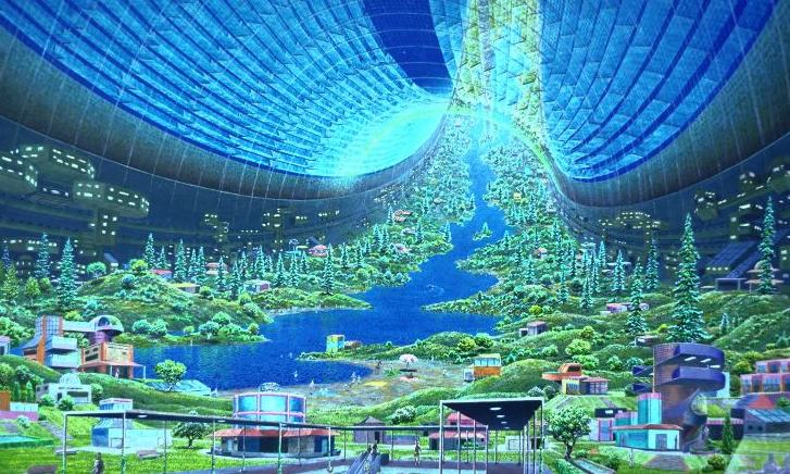 toroidal colony 8