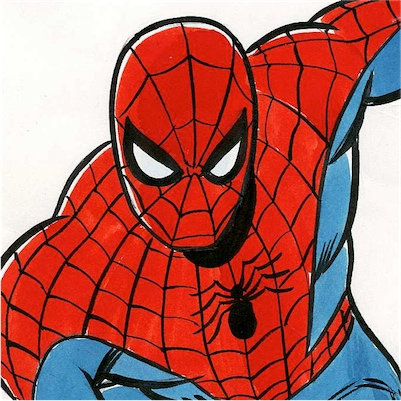 2936130-john_romita__sr.___original_color_spider_man_drawing