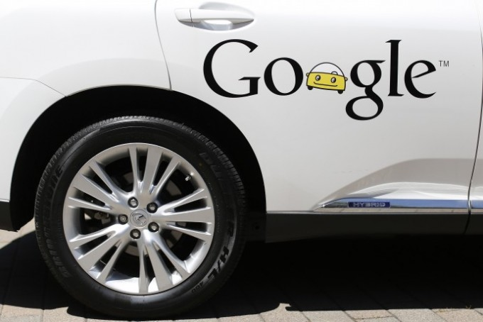 A Google self-driving vehicle is parked at the Computer History Museum after a presentation in Mountain View, California May 13, 2014. Photo: Reuters