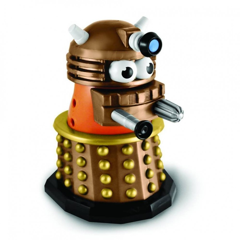 Doctor Who Gold Dalek Mr. Potato Head