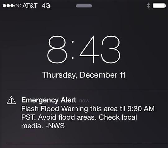 Emergency Alert!