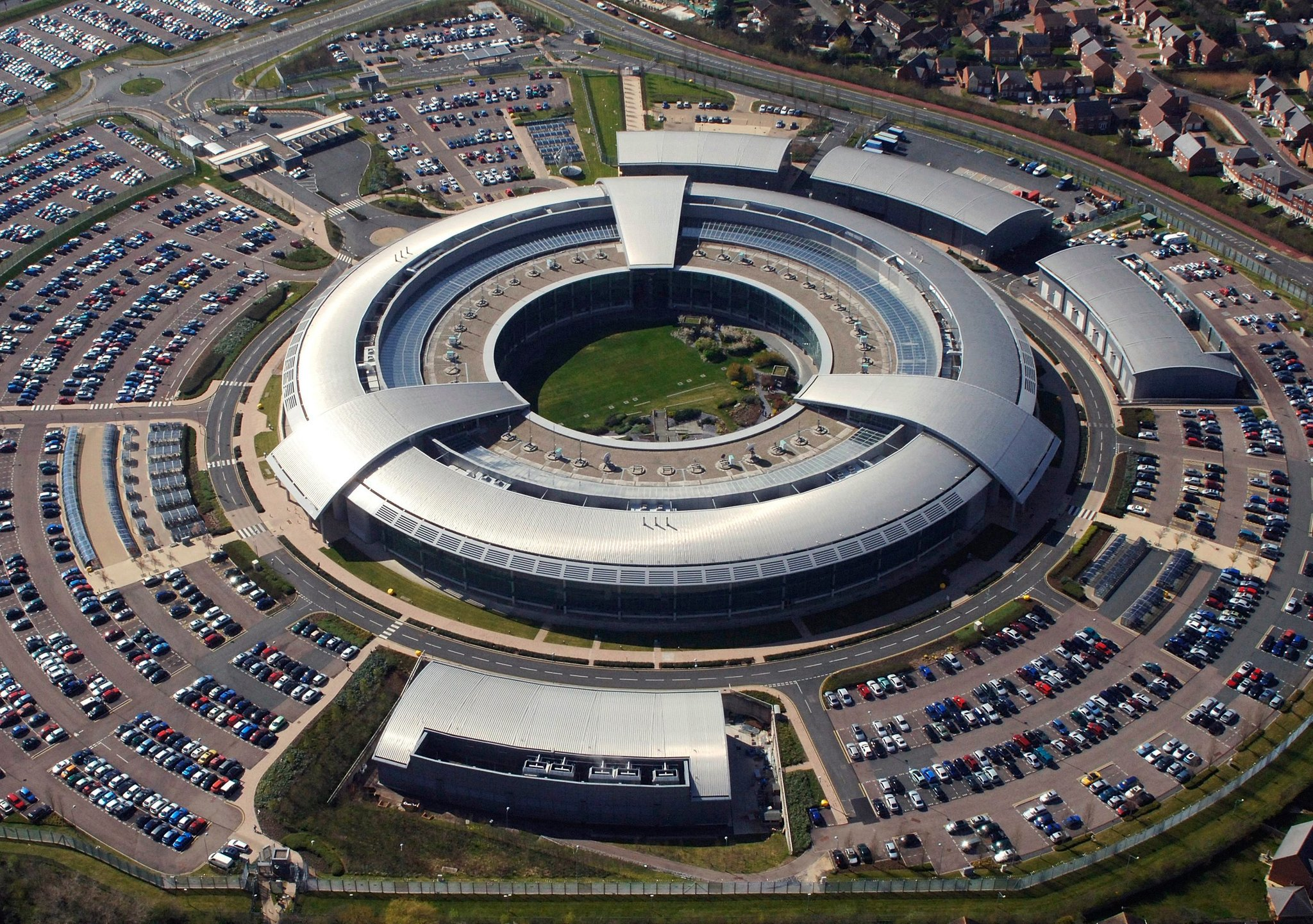 The Government Communications Headquarters in Britain. Image: GHCQ/British Ministry of Defence